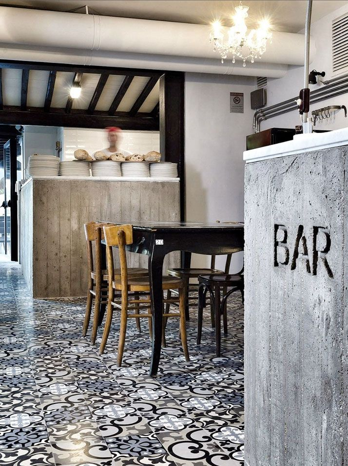Kook Osteria  Pizzeria 10 Rome Hotel Interior Designs