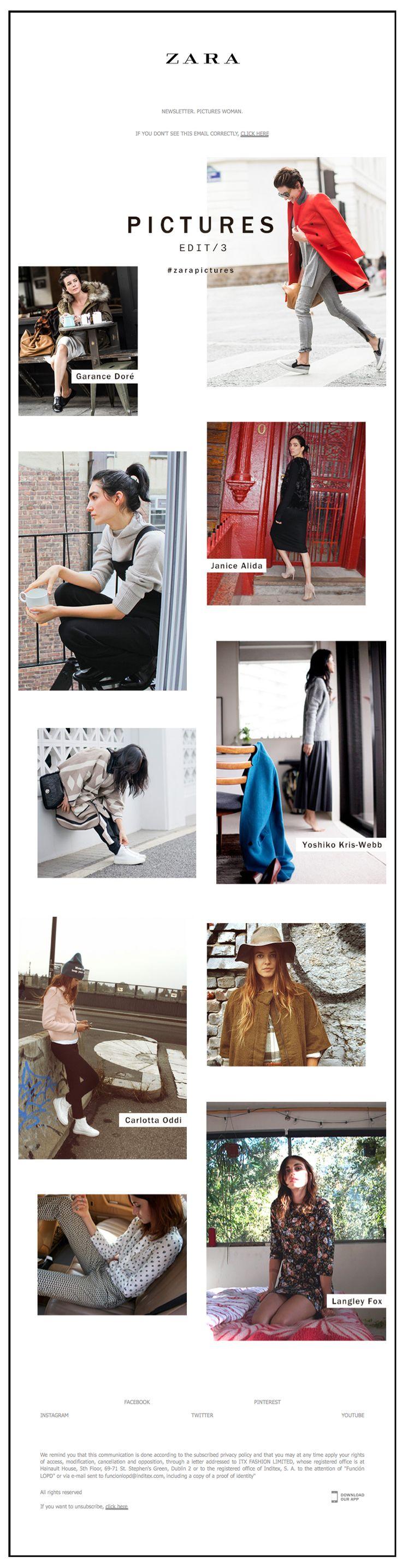 Zara poster design -  Zara