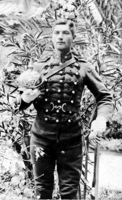 Soldado de la escolta de la Guardia Presidencial de Santiago