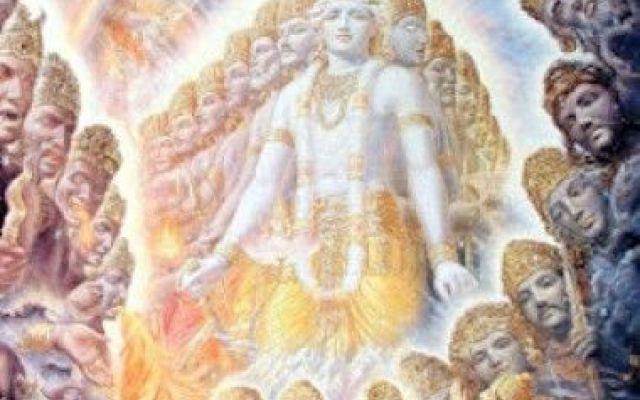 L'anima (Krishna) rischiara il campo di battaglia #dharma #via #yoga #meditazione
