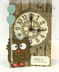 Fran Sabad Using The Pop It Ups Spiral Circle Pull Card, Poppy The Owl And