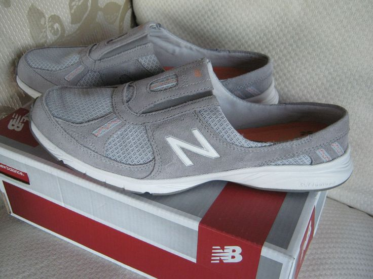 WOMENS NEW BALANCE 520 EVERLIGHT Slip On Sneaker, Mule,Walking, NIB Gray Sz 9.5N #NewBalance #EverydayActiveWalking