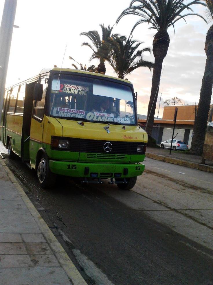 Micro Adgabus, Ruta #Limache - #Olmue , San Francisco de Limache, Quinta Región ...