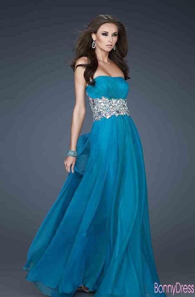 74 best Long Prom dresses images on Pinterest   Ballroom dress ...