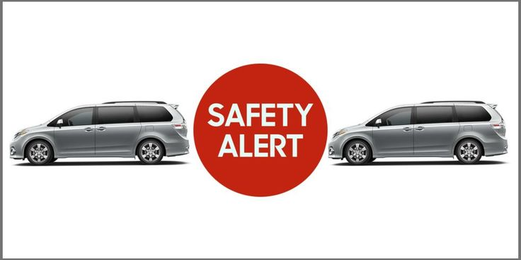 Toyota Sienna Minivans Recalled Because Sliding Door Can Open - Toyota Minivans Recalled