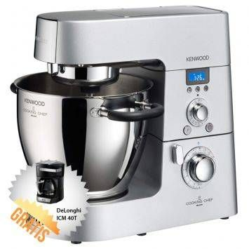 Dunia Shopping Shopping: Kenwood KM070 Cooking Chef + DeLonghi ICM 40T Mesi...