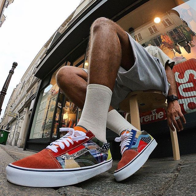 8793f1b1726 Factory fresh!  ceasarsalade laces up in the  sizeofficial x Vans Old Skool