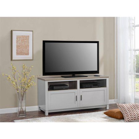 "Better Homes and Gardens Langley Bay TV Stand for TVs up to 60"", Gray/Sonoma Oak - Walmart.com"