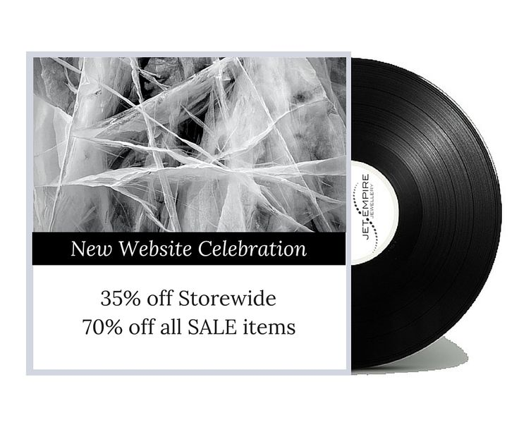 To celebrate our NEW LOOK WEBSITE we're offering 35% off store wide and 70% off all sale items!
