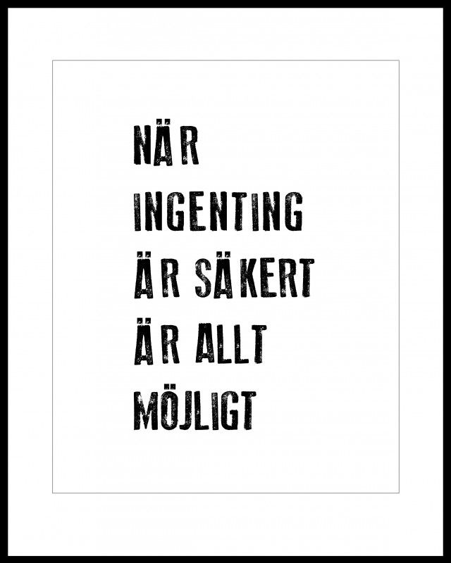 Möjligt, illustration by Filuriform #nordicdesigncollective #nordic #nordicdesign #autumn #backtoschool #backtowork #schoolstart #filuriform #possible #word #wisdom #wordsofwisdom #typography #poster #print #peptalk #black
