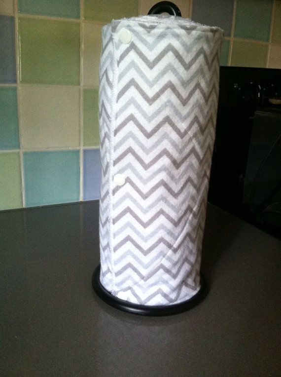 Reusable Paper Towels with Snaps Cloths by RaisingGreenKids, $36.95