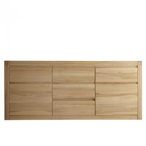 TOP Sideboard Eiche Bianco Massiv Gelt Anrichte Kommode Wohnzimmer Esszimmer TopEbay
