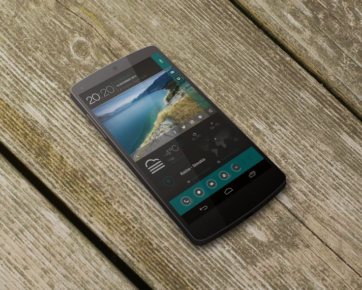 SimpleSea Theme Android Homescreen by 21MaRcO12 - MyColorscreen