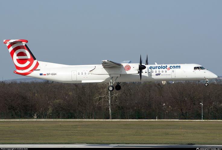 SP-EQH Eurolot De Havilland Canada DHC-8-402Q Dash 8