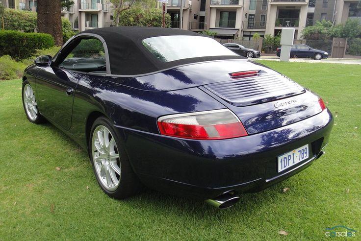 2000 Porsche 911 Carrera 996 Cabriolet