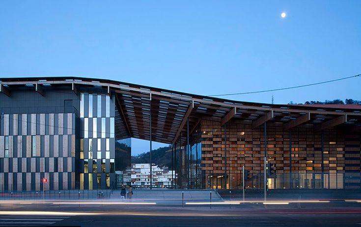kengo kuma bresancon art center and music city mimics landscape tectonics