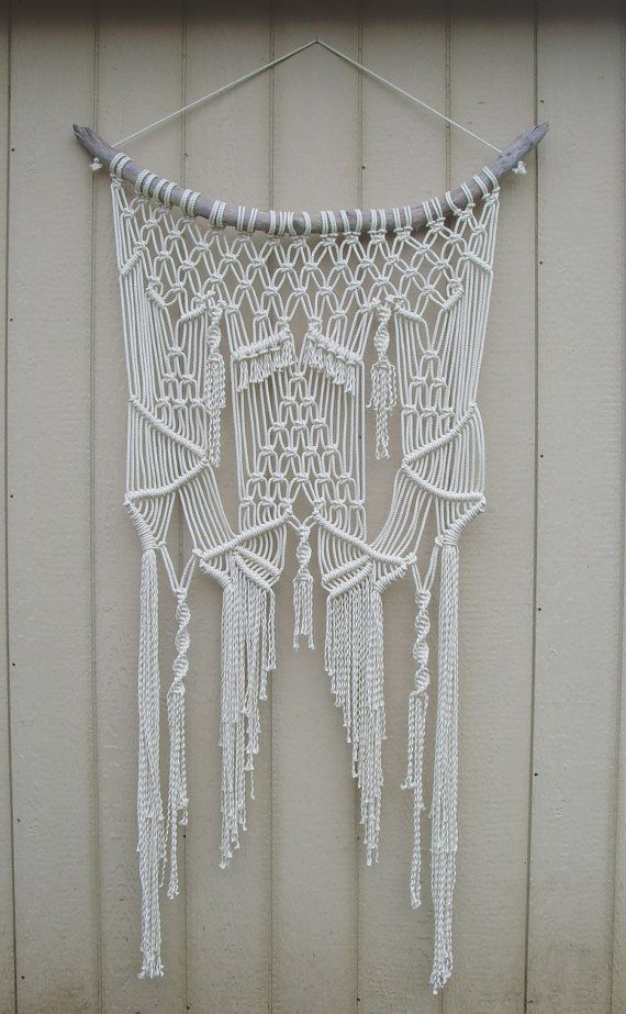 Large Macramé Wall Hanging by FreeCreatures