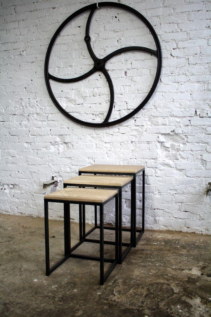 Ławy i stoliki : Zestaw stolików SIMPLE