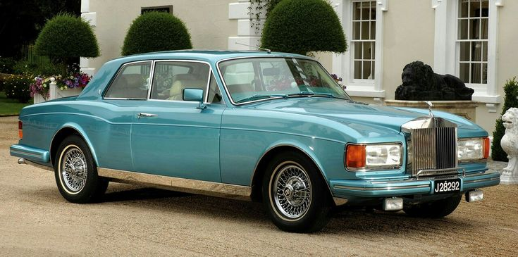 Rolls Royce Corniche, 1980, by Hooper. A one-off coachbuilt Rolls Royce Corniche which had the front and rear sections of a Rolls Royce Silver Spirit. The work took 18 months to complete and cost £30,000 in addition to the cost of the donor Corniche