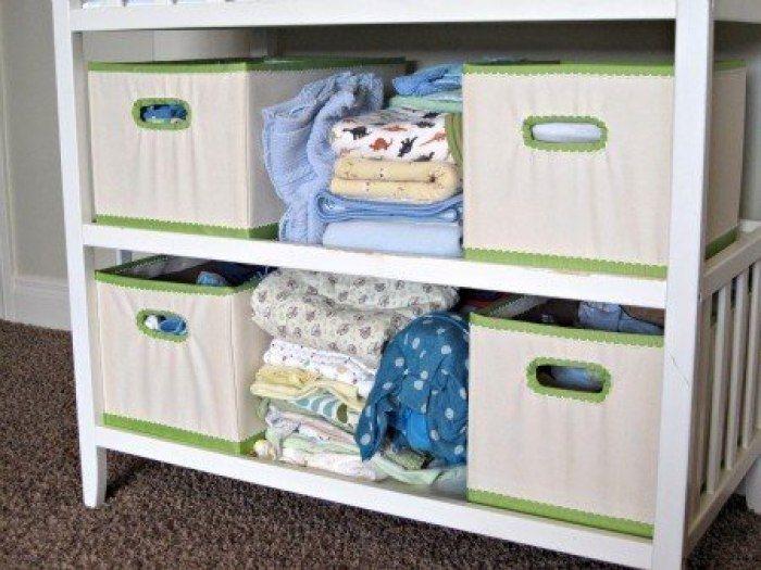 Еще один способ декорирования коробок для домашнего уюта