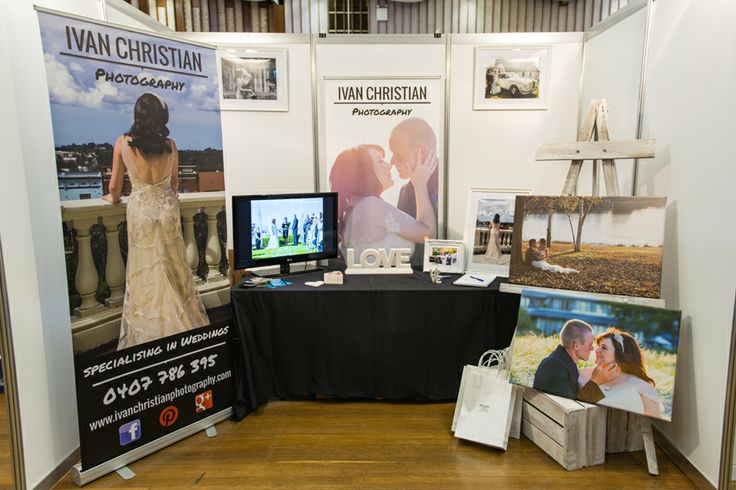 My stand at the Dubbo Bridal and Event Expo 2014 - Ivan Christian Photography