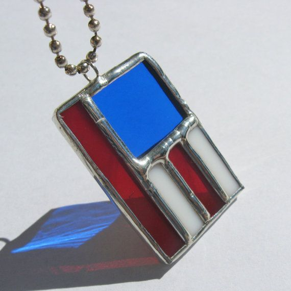 stain glass necklace