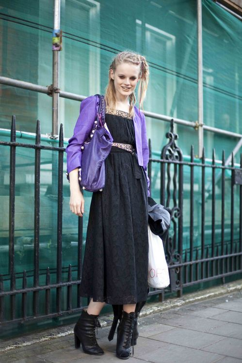 MY FASHION TRICKS: Model street style:Hanne Gaby Odiele
