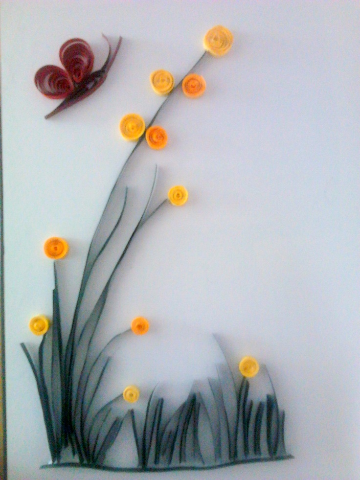 simple quilling quilling pinterest quilling flower
