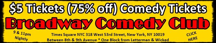Discount tickets to the #Broadway #Comedy #Club Times Square New York https://web.ovationtix.com/trs/pr/927893/prm/walter101 www.fpny.org/mobi