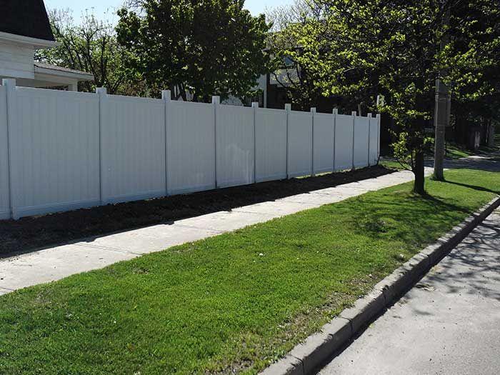 vinyl fencing burlington wholesale wood fence cost install prices