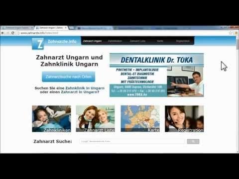 Suche nach einem neuen Zahnarzt - Zahnarzt Ungarn