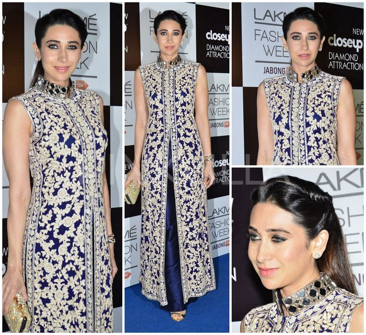 Karisma Kapoor in Manish Malhotra Jacket