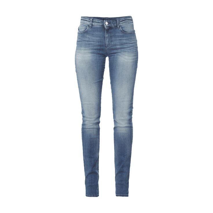#Armani #Jeans #Damen #Stone #Washed #Slim #Fit #Jeans - Damen 5-Pocket-Jeans…