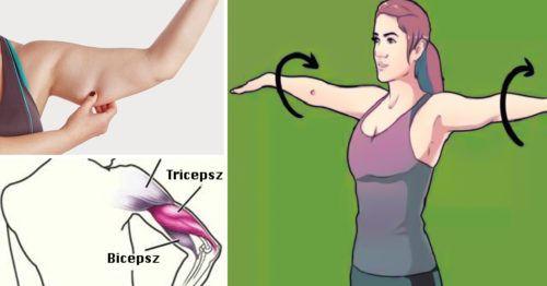 Gyakorlatok súlyzóval a feszes és karcsú karok eléréséhez és a lötyögő effektustól is megszabadulsz! - Ketkes.com