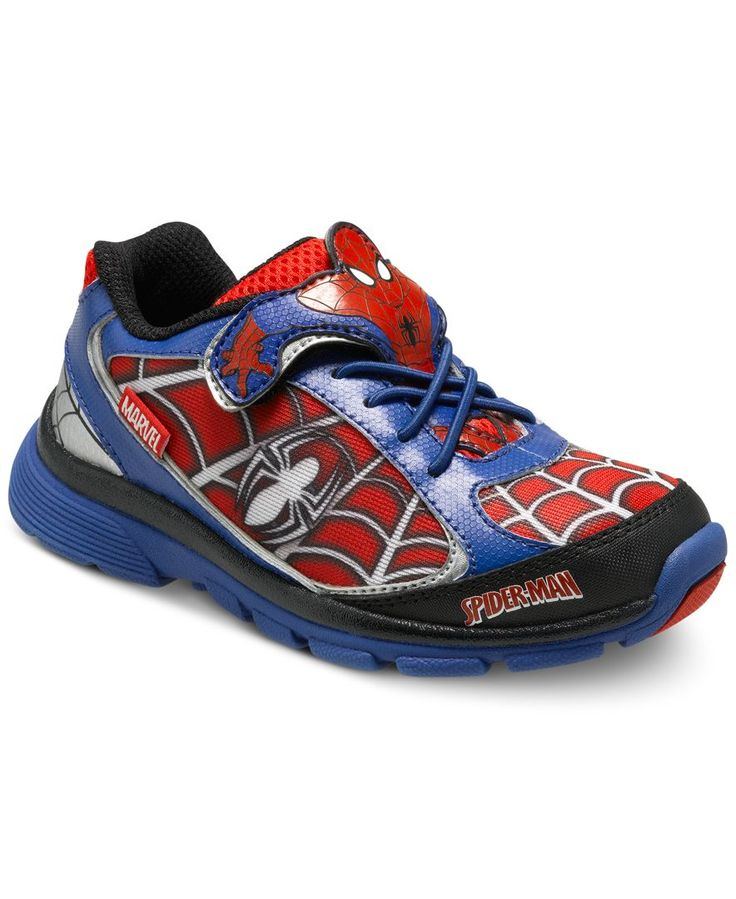 Stride Rite Little Boys' Spider-Man Lighted Sneakers