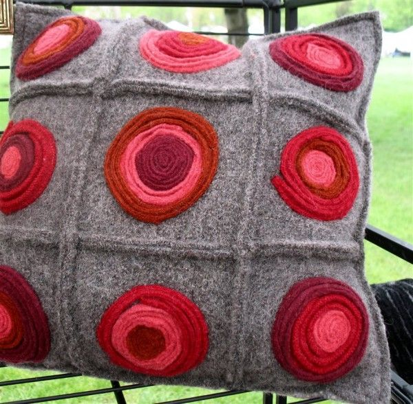 Feltwerker Recycled Felt Pillow
