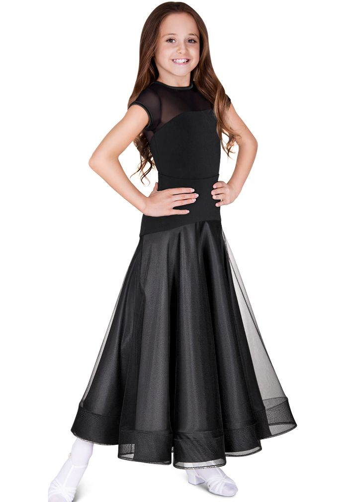 DSI Hettie Juvenile Skirt 3112 | Dancesport Fashion @ DanceShopper.com