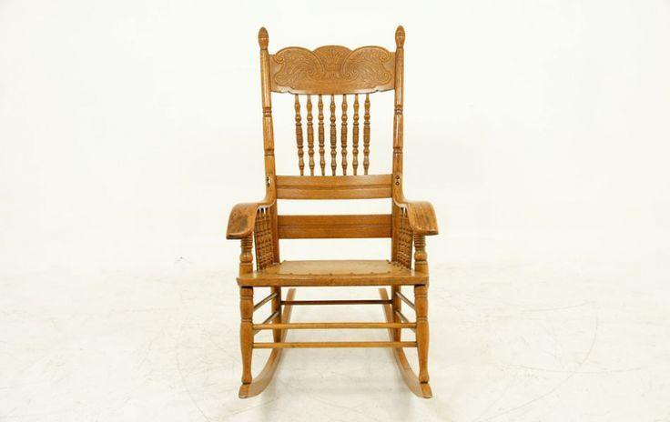 """Oak """"Boston"""" Rocking Chair Rocking chair, Chair, Oak"""