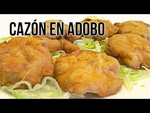 Receta Boquerones bienmesabe (en adobo) rebozados con pasta orly - Recetas de cocina - Tutoriales - YouTube
