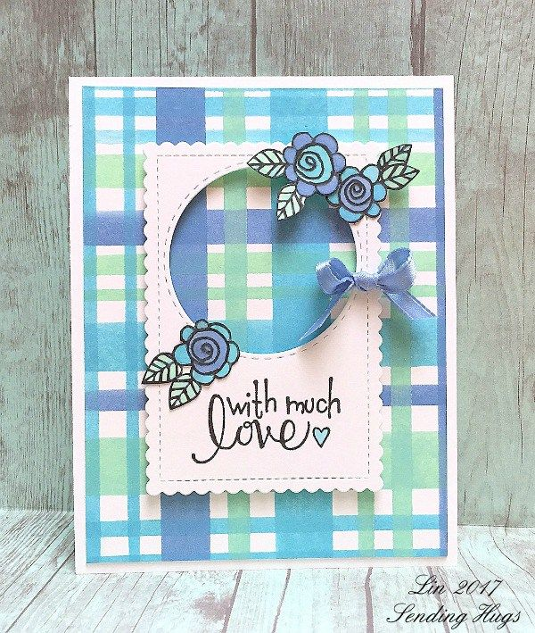 With Much Love Card by Lin Brandyberry | www.tammytutterow.com