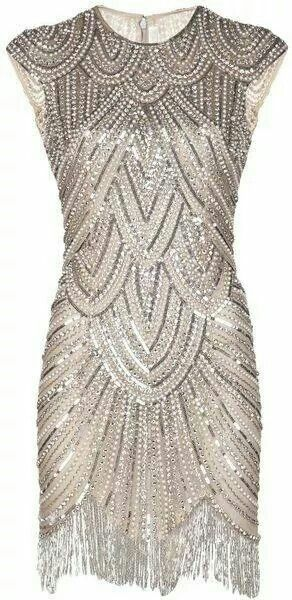Stunning art deco dress