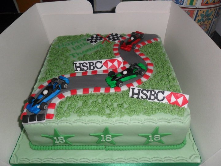 Mini Rally Car Birthday Cakes