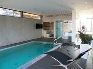 Pohledové stěrky PANDOMO W1 na stěny - fotografie z realizací AB Parket / bazény