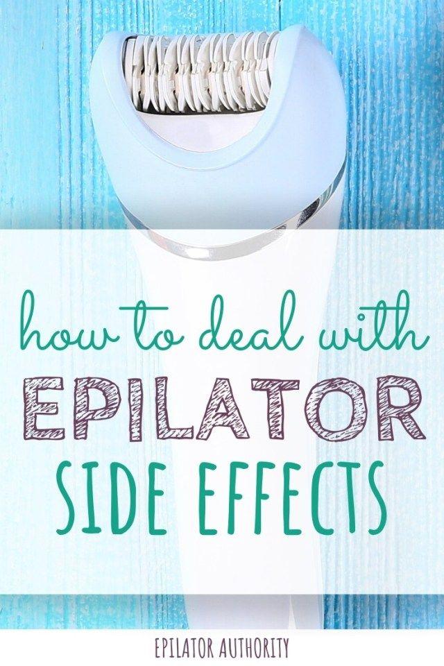 Epilator Side Effects Bleeding Bumps Accidents Oh My Epilator Authority Epilator Epilator Tips Skin Calming