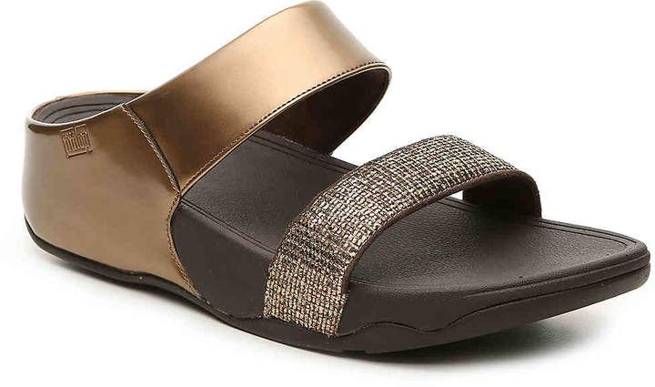 68f717d9c4e FitFlop Lulu Super Glitz Wedge Sandal - Women s   wedgesandal flipflopsandal sliponsandals ad