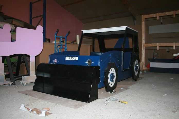 boys dump truck trundle beds | List