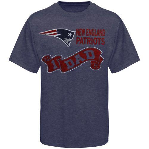 #NewEnglandPatriots #1Dad T-Shirt - Navy Blue $24.95  http://www.newenglandusa.com/New-England-Patriots-Pro-Shop/new-england-patriots.php