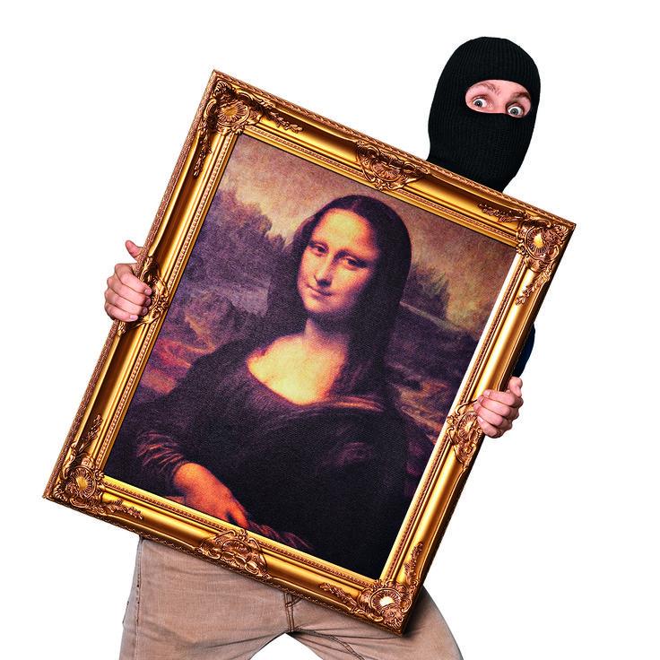 Πάρε την δικιά σου Μόνα Λίζα και βάλε την τέχνη στο σπίτι σου!
