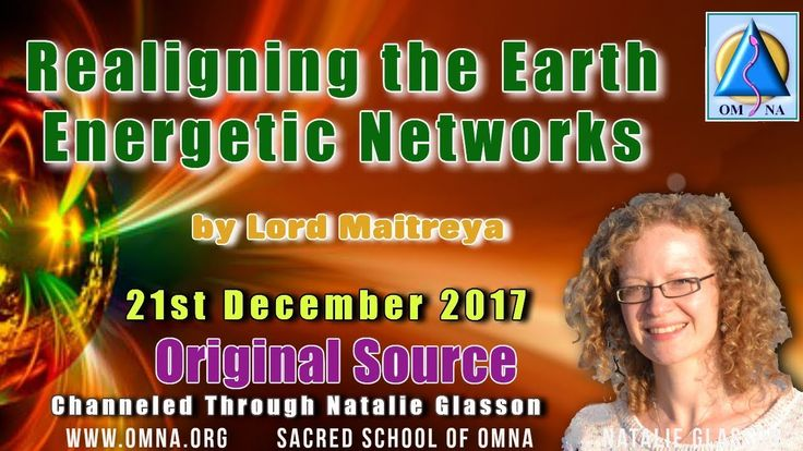 Channeled Messages - Realigning the Earths Energetic Networks by Lord Maitreya Channeling