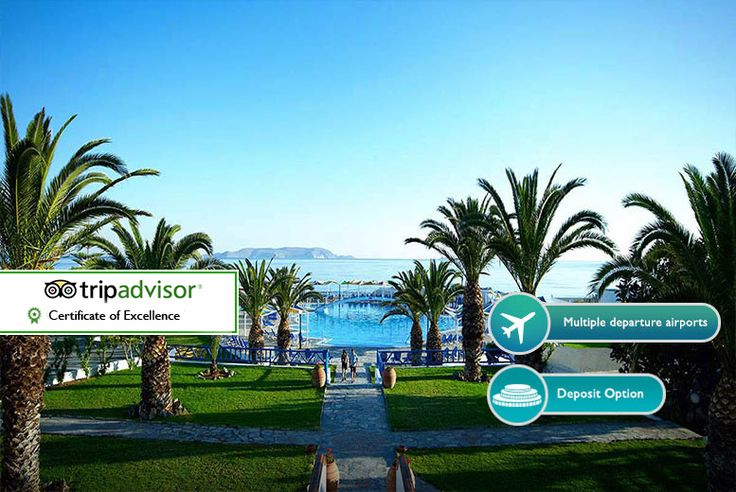 3-7nt 5* All Inclusive Crete Break & Flights - Family Options! deal in Holidays Enjoy three, five or seven nights on the isle of Crete.  Includes return flights from Stansted, Luton or Gatwick.   Stay all-inclusive at the 5* Rinela Beach Resort and Spa.  or relax and unwind at the 5* Serita Beach Resort.   Minimum 60 hours in destination for a three-night break.  Valid for travel on selected...